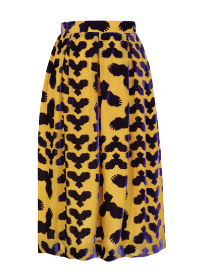 Charlotte-Taylor-Womens-Double-Bass-Devore-Owl-Skirt-1