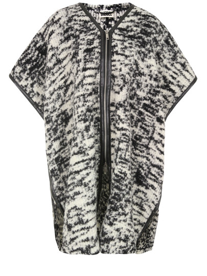 Diesel-Womens-Toky-Black-White-Coat-1