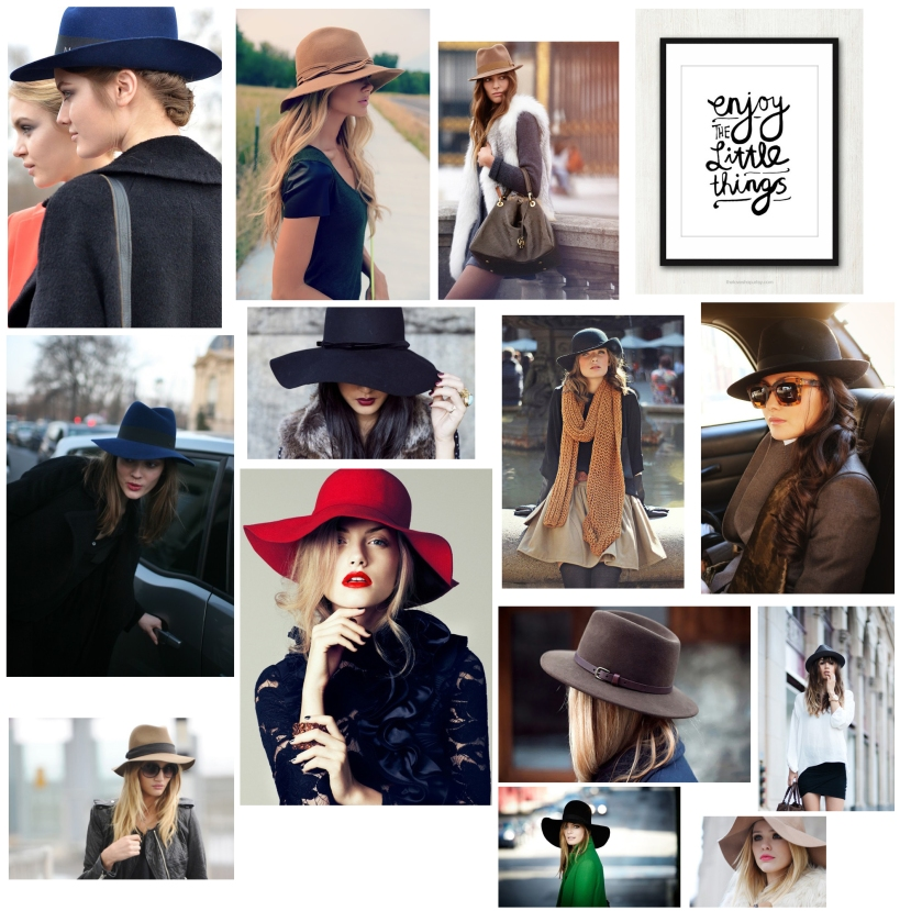 hats collage