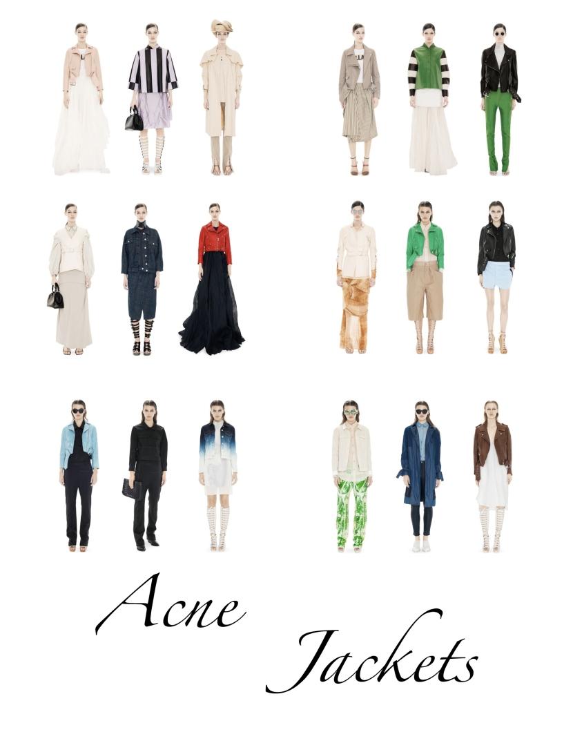 acne jackets