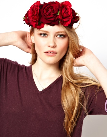 2 floral headband
