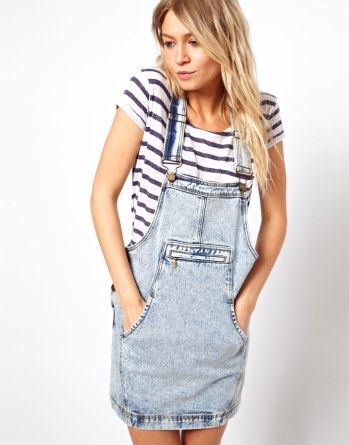 asos dungaree dress