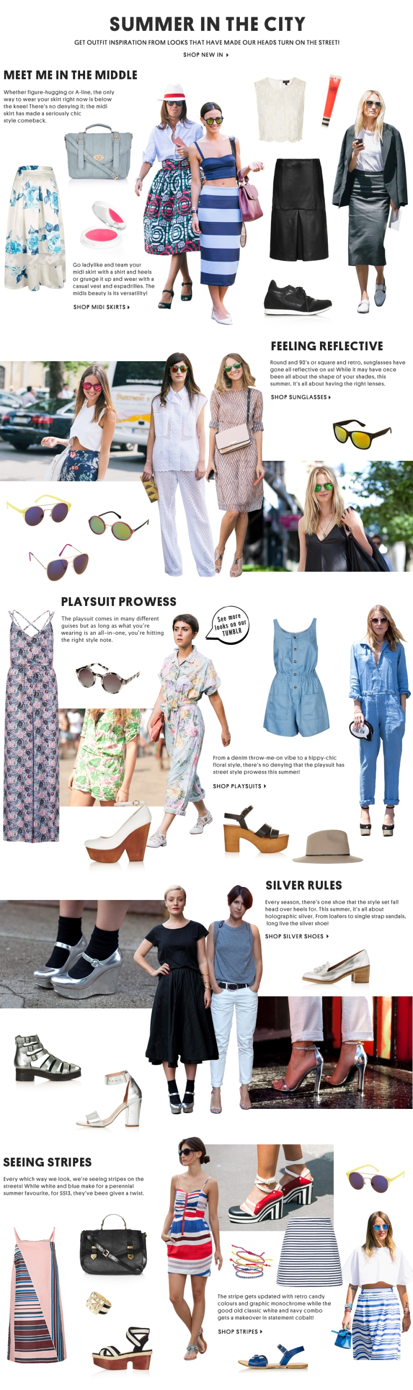 topshop summer style tips