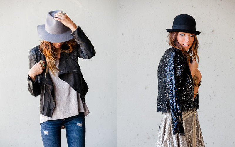 hat fall outfit